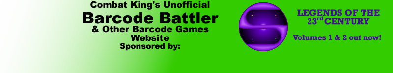 Unofficial Barcode Battler Website